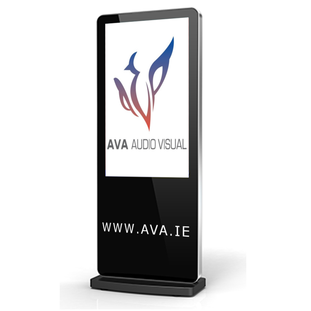 Freestanding Totem with AVA Logo