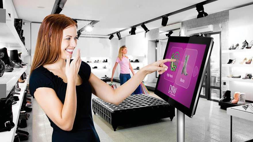 Giant Tablet Styling Displays are commercial tablets