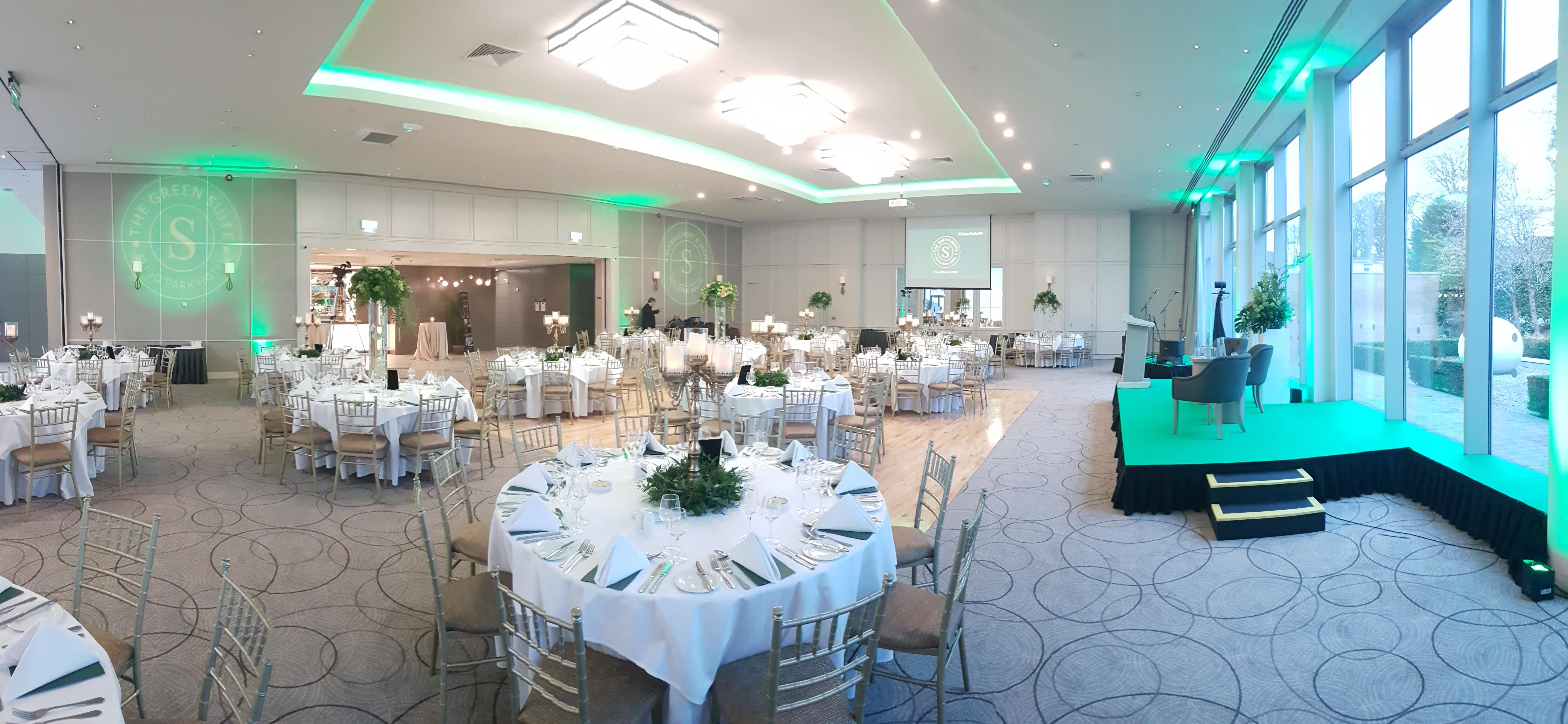 View of the Green Suite during the day